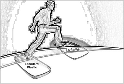 Essilor Trexa 1.53: la lente in Trivex