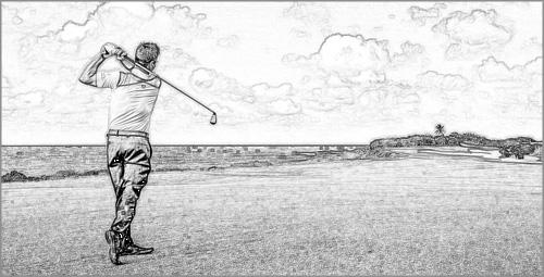 lente progressiva per giocatori di Golf